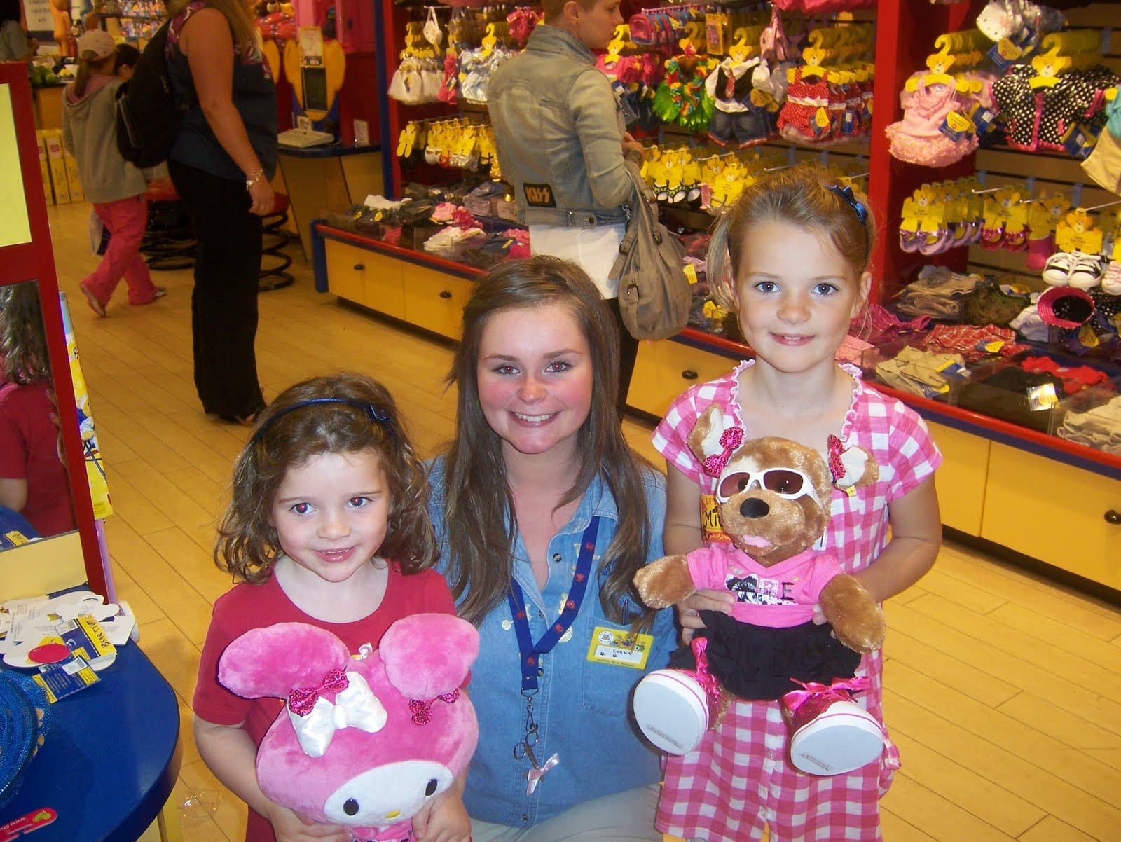 A magical trip to Build-a-Bear
