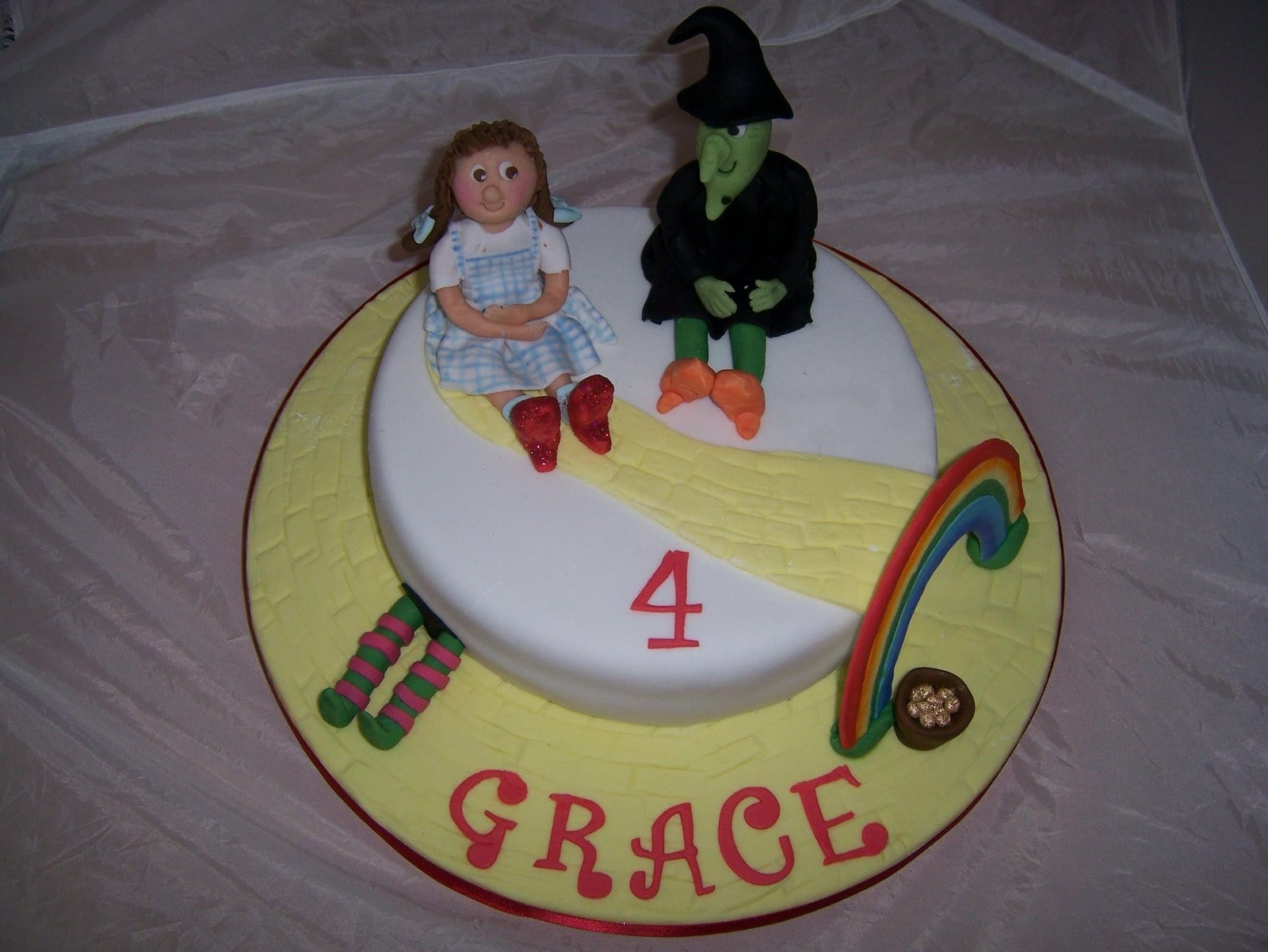 Happy 14th month anniversary my best friend vicky casa costello 4th birthday cake wizard of oz sciox Gallery