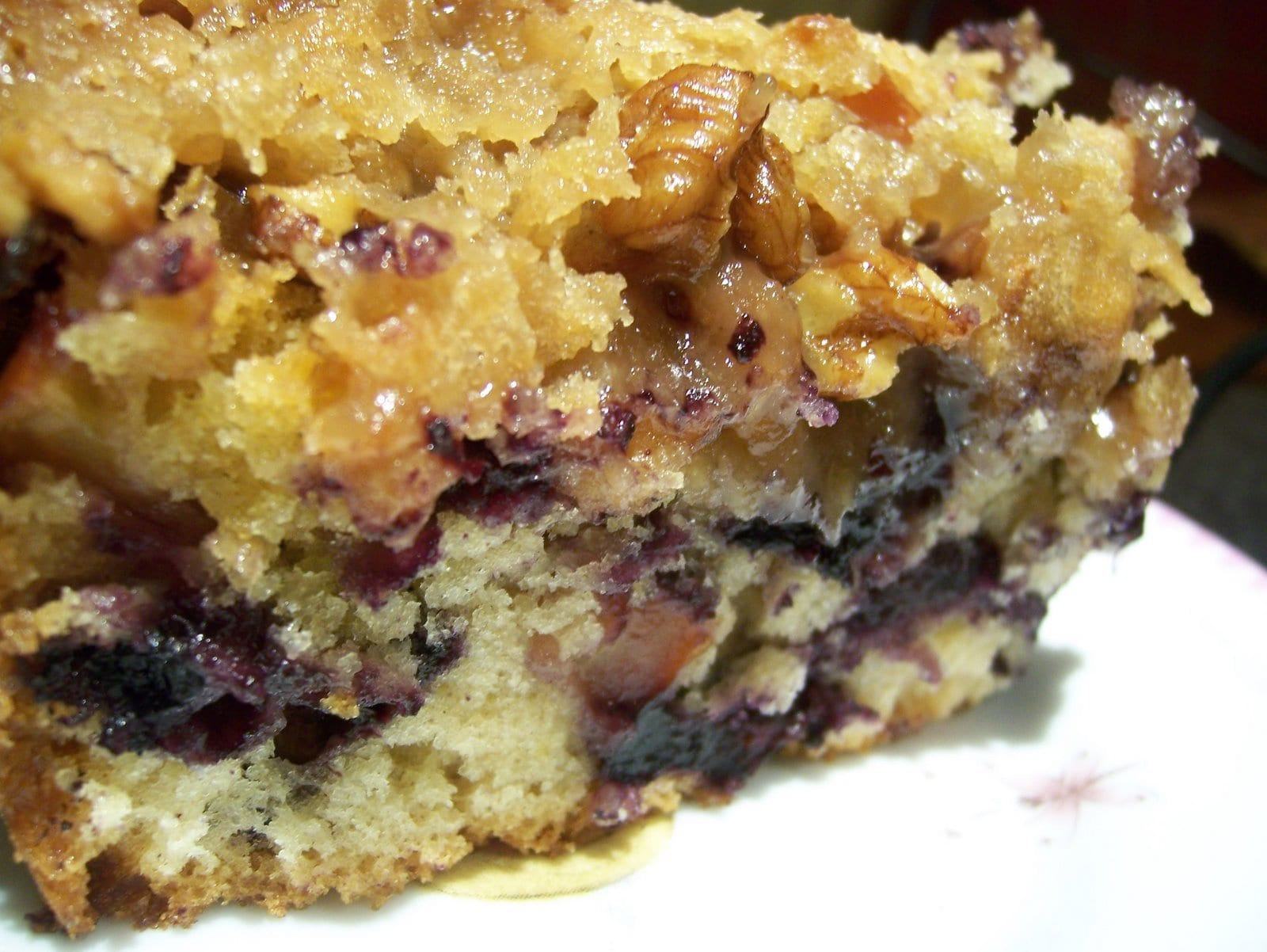 TWD Blueberry Crumb Cake The Sequel