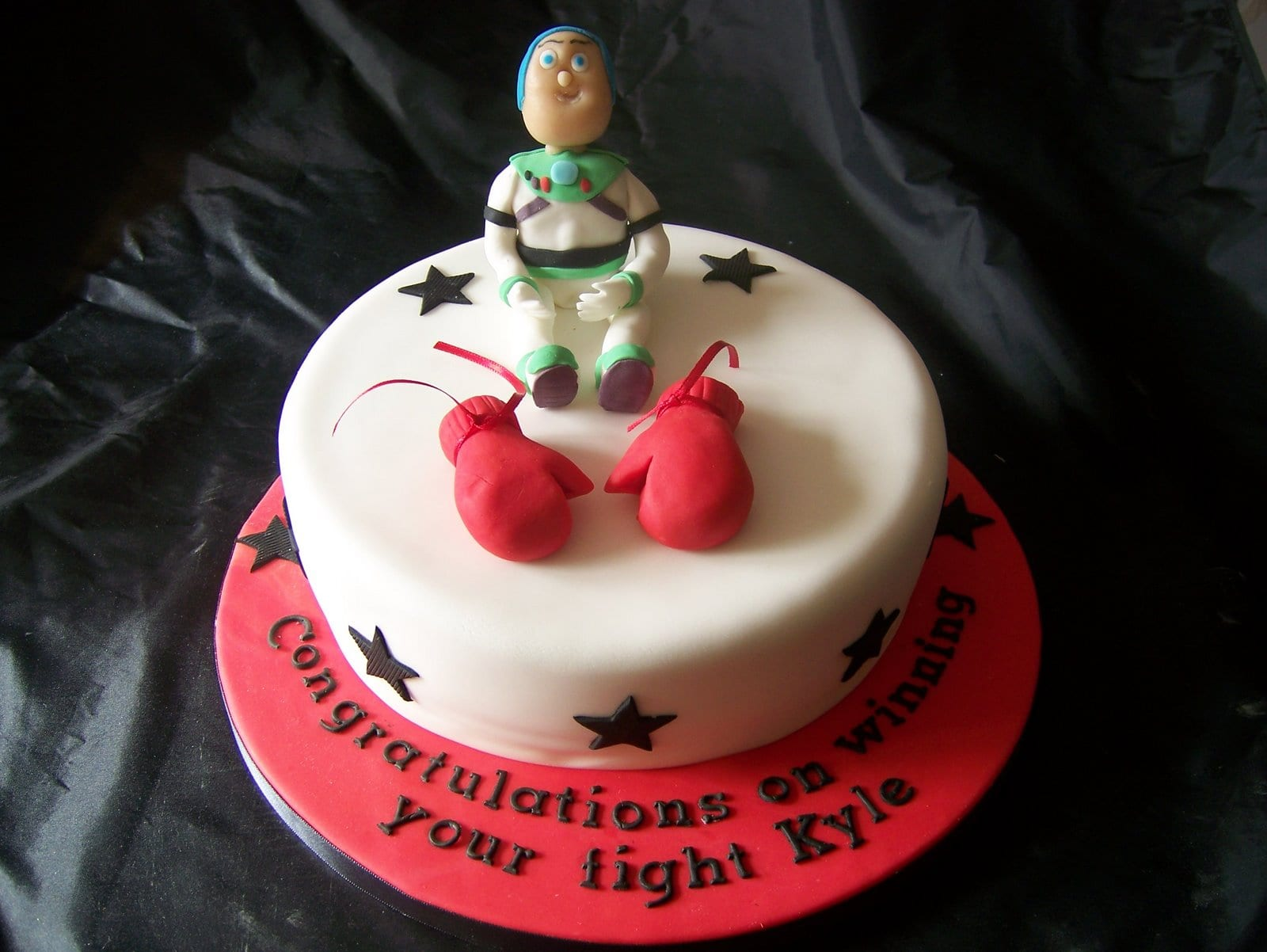 I am Back! Buzz Lightyear Celebration Cake