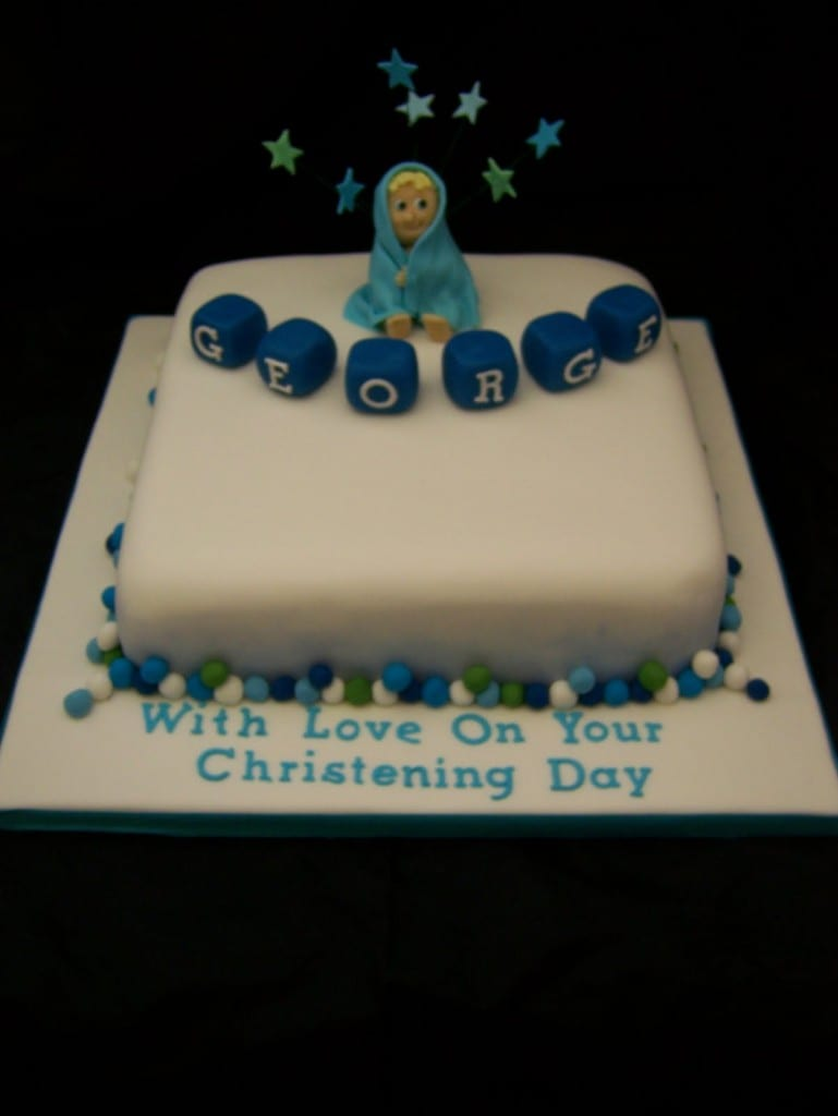Christening Cake Book Design : Two Christening Cakes Pink or Blue? - Casa Costello