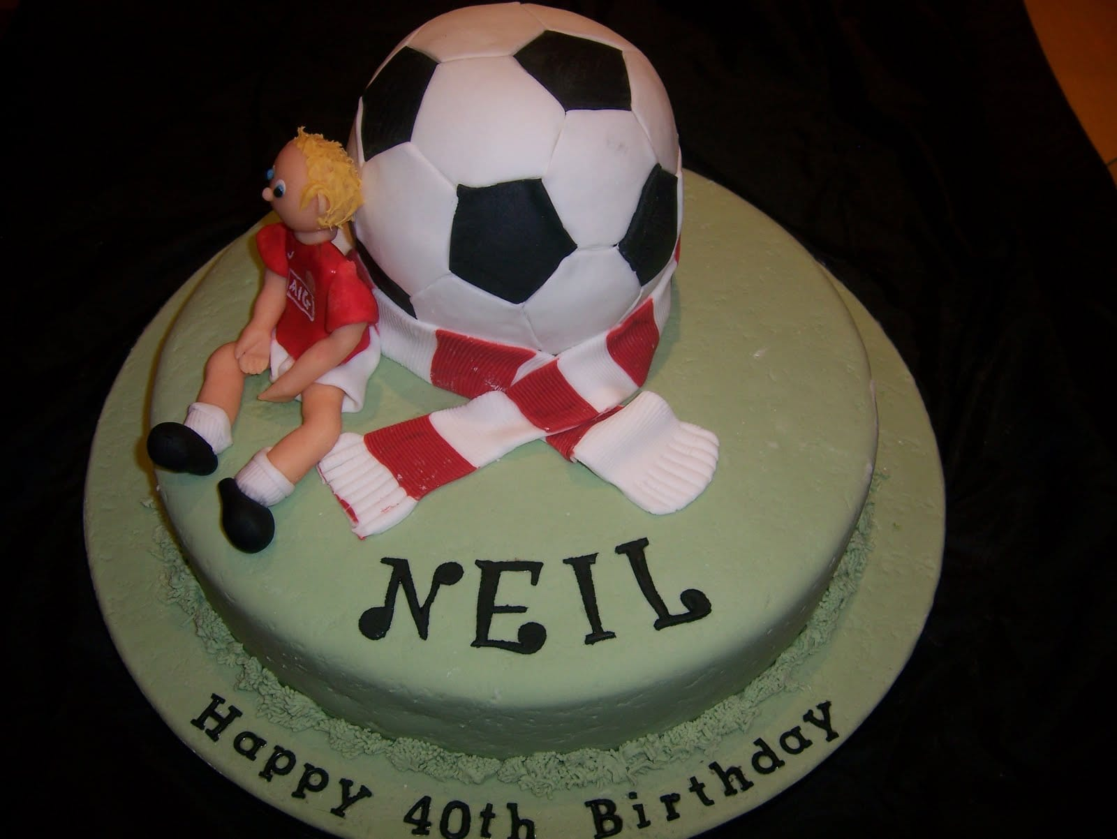 Liverpool FC Football Cake