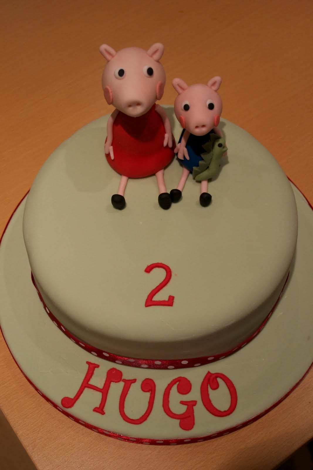 Peppa Pig Cake – Finished it Friday