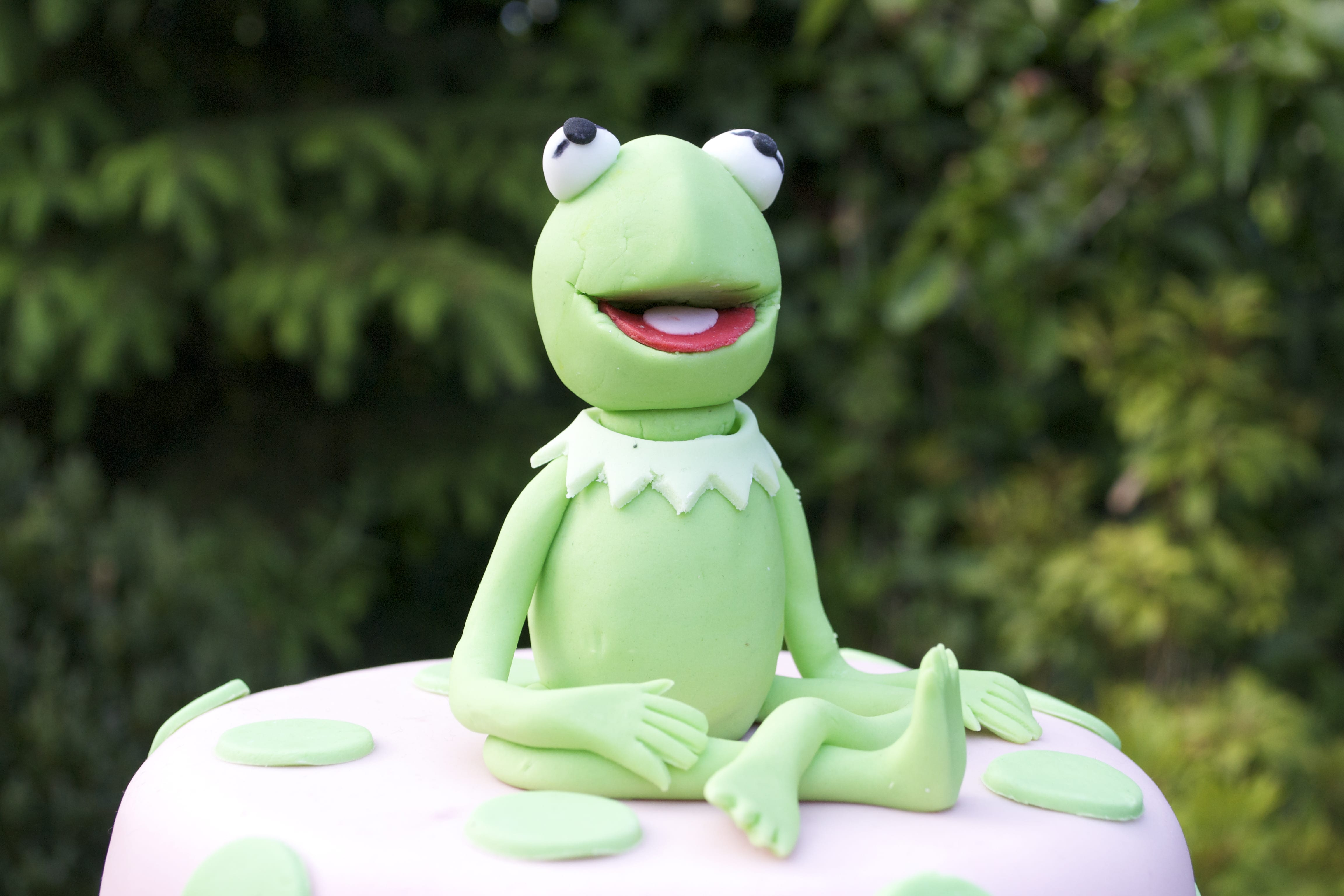 Muppets Christening Cake