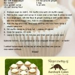 Ginger Cupcakes recipe