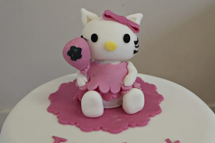Cake Topper Tutorial – How to make an icing Hello Kitty – Cake of the Week