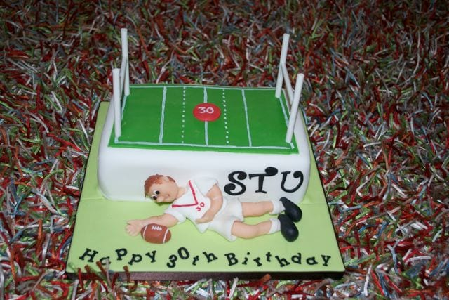 Cake of the Week – Saints Rugby Cake