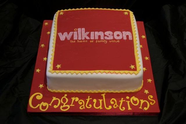 Wilkinson's Corporate Cake – Cake of the Week
