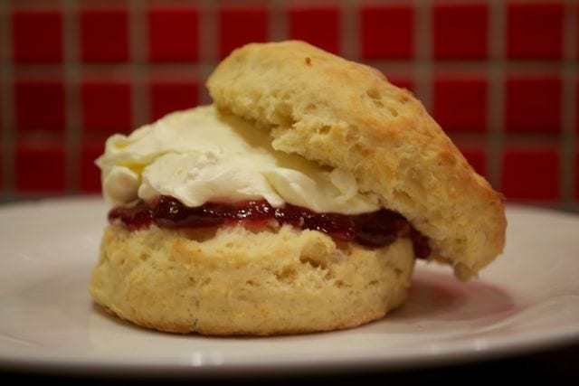 Classic Jam & Cream Scones - Baking without Eggs - Casa Costello