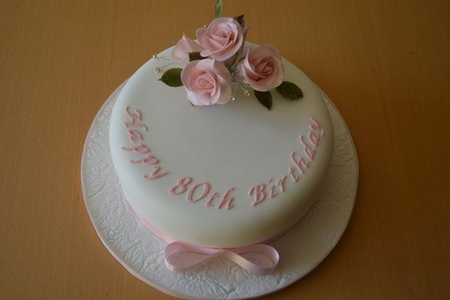 Pink Lady's 80th Birthday Cake – Cake of the Week