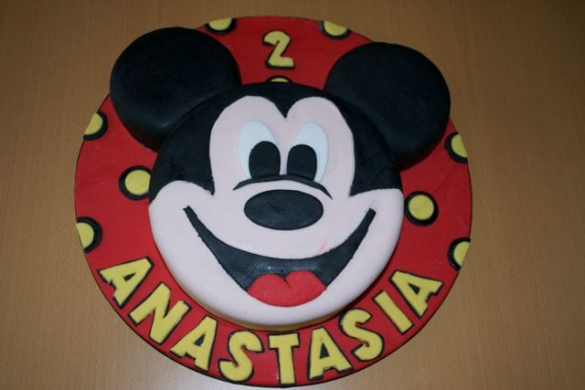 Pictures Of Mickey Mouse Face Cakes : Cake of the Week - Mickey Mouse Cake - Casa Costello