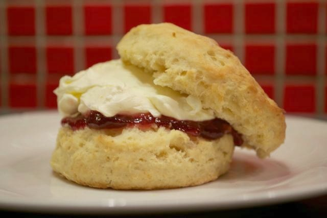 Jam & Cream Scones: Baking without Eggs