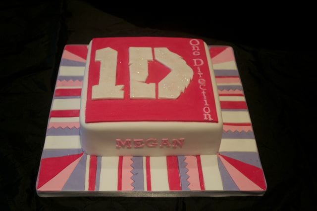 One Direction Cake – Cake of the Week