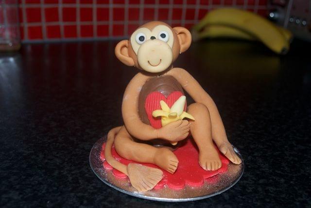 Cheeky Monkey Creme Egg Creature – Valentine's Gift