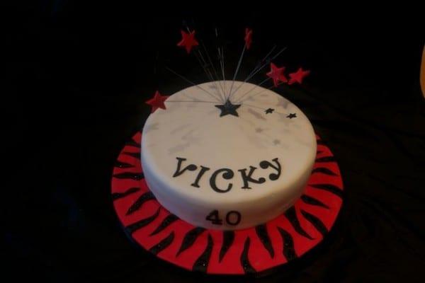 Wondrous Animal Print Cake Casa Costello Personalised Birthday Cards Veneteletsinfo