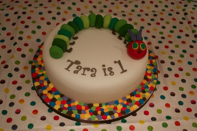 Very Hungry Caterpillar Cake – Cake of the Week