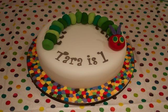 Outstanding Very Hungry Caterpillar Cake Cake Of The Week Casa Costello Personalised Birthday Cards Veneteletsinfo