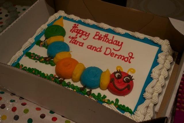 Incredible Costco Caterpillar Birthday Cake Casa Costello Funny Birthday Cards Online Aboleapandamsfinfo