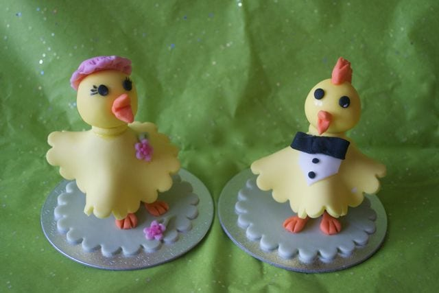 Mr & Mrs Easter Chick – Creme Egg Creatures