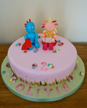In The Night Garden Cake – Cake of the Week