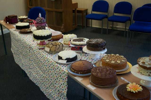 A Big & Mighty Gathering at St Helens Clandestine Cake Club