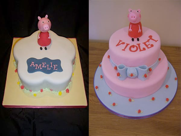 How to make a Peppa Pig Cake Topper – Tutorial