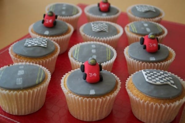 Grand Prix F1 Cupcakes Casa Costello