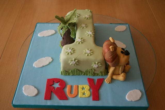 Raa Raa The Noisy Lion Cake – Cake of the Week