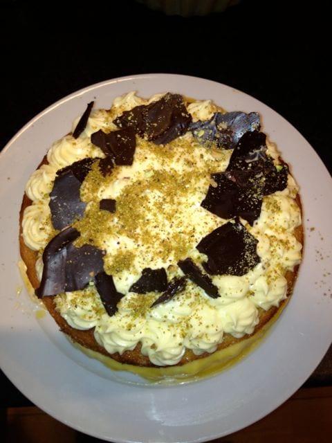 Clandestine Cake-a-long Episode 1: Lime & Pistachio Cake