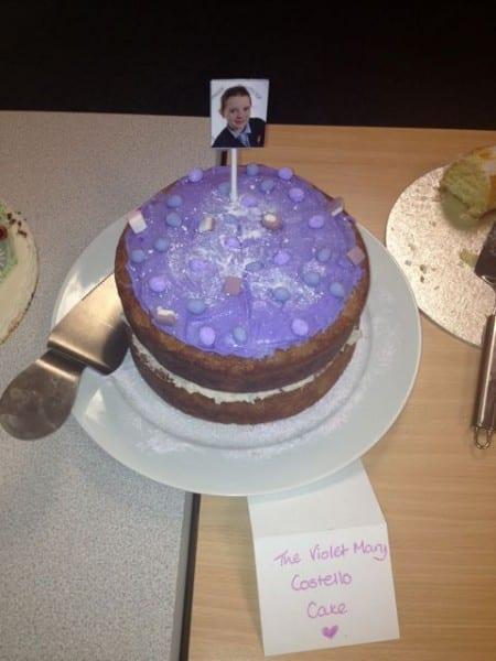 Cake of the week parma violet cake casa costello - Kidshome palma ...