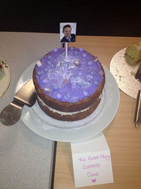 Cake of the Week: Parma Violet Cake