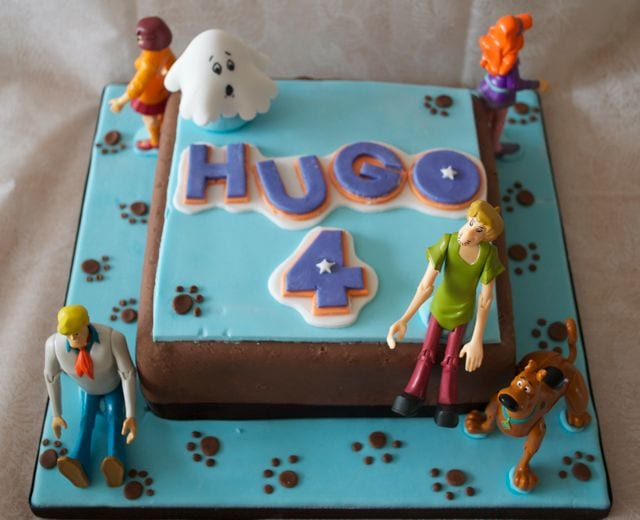 Scooby Doo Birthday Cake Designs