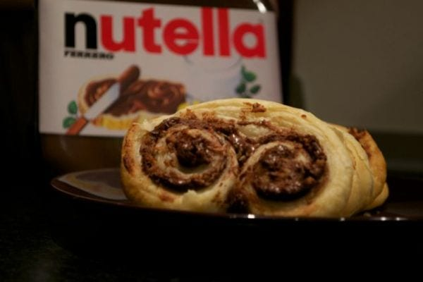 Nutella Palmiers Recipe