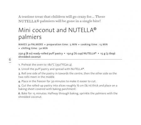 Nutellapalmiersinstructions