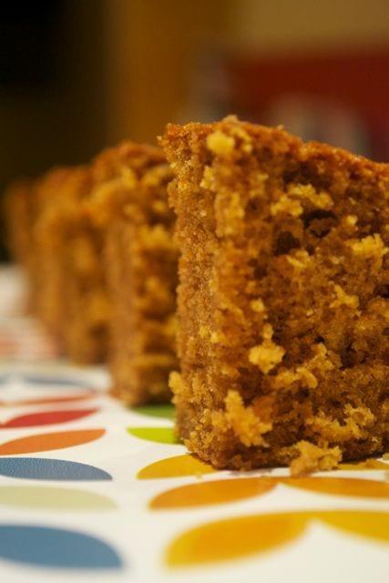 Easy Family ginger traybake cake recipe
