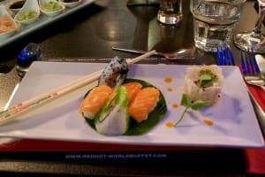 Salmon Sushi Starter