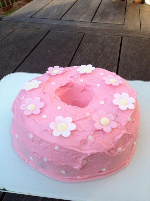 Raspberry Passion Fruit Yoghurt Birthday Bundt Cake Clandestine