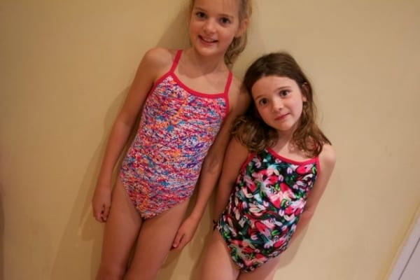 funky kid's swimwear