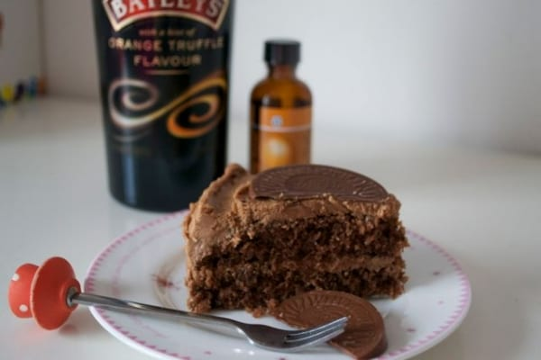 baileys orange truffle buttercream