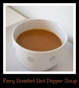 Fiery Roasted Red Pepper Soup