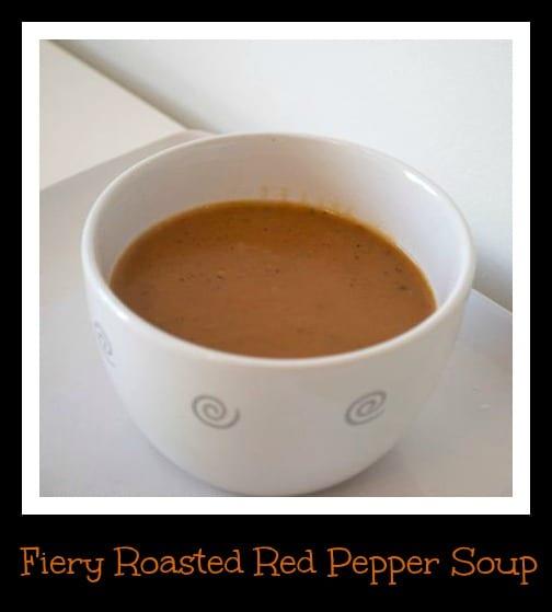 Fiery Roasted Red Pepper Soup