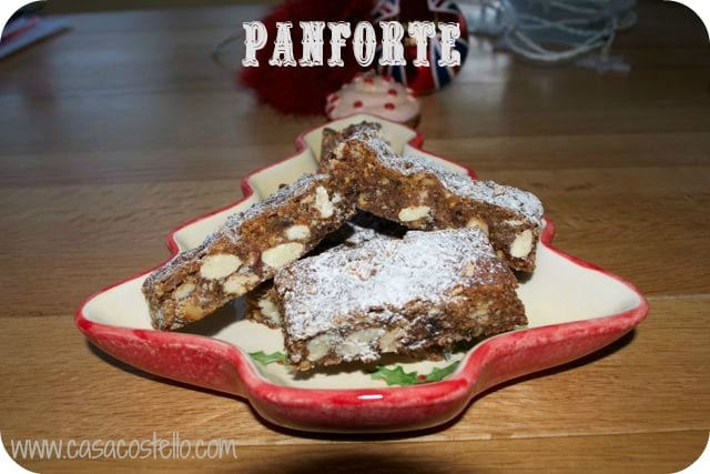 christmas baking, panforte, cherries, nuts