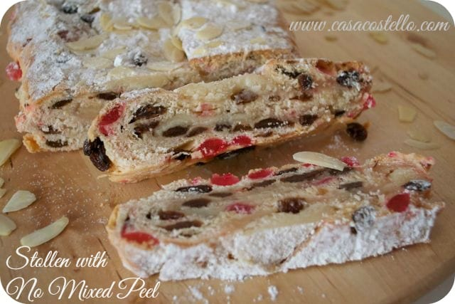 Stollen Recipe - with no Mixed/Candied Peel