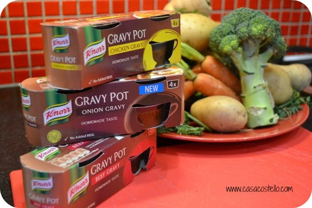 ready made gravy pots