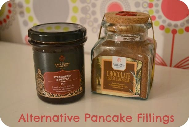 pancake fillings chocolate sugar