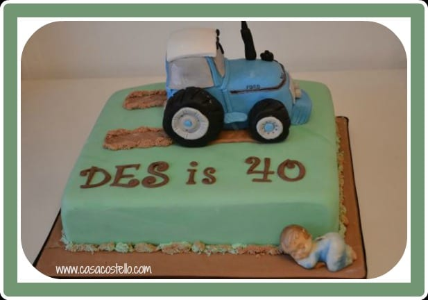 Tractor Cake & Rice Krispie Treats Tutorial