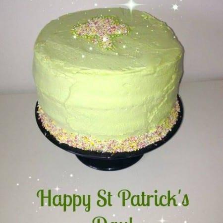 Happy St Patrick's Day Cake