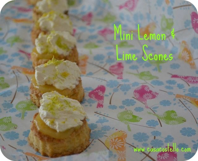 lemon lime scones curd recipe
