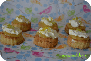 Mini Lemon & Lime Scones