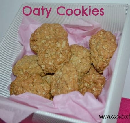 Oaty Cookies/Oat Biscuits - Brilliant recipe for baking with children